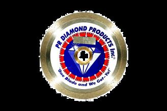 # 910 Premium Tile Saw Blades, Continuous Rim Dry Cut 4-14