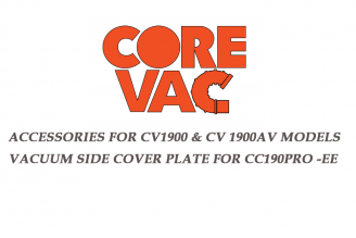 CV1900 Vacuum Side Cover Plate Attachment for  CoreCut CC190Pro-EE